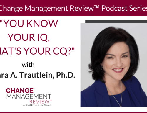 You Know Your IQ, What's Your CQ?, With Barbara A. Trautlein, Ph.D.