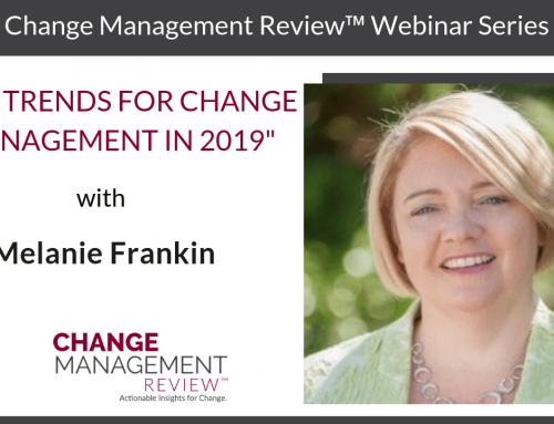 Key Trends for Change Management in 2019