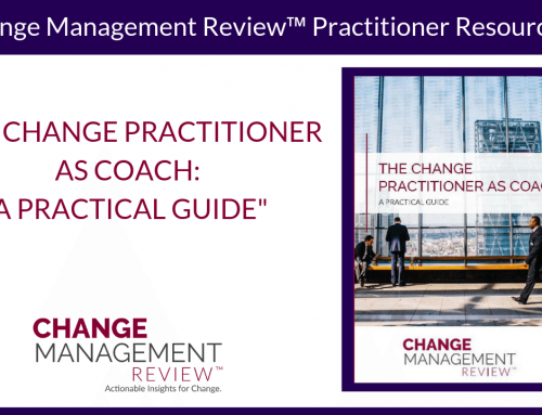 The Change Practitioner as Coach: A Practical Guide