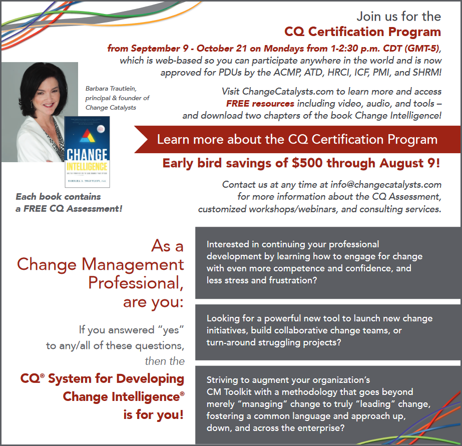 cq certification program eb